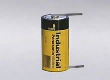 Panasonic AM1-T D Cell Battery - 1.5 Volt Alkaline with Solder Tabs, 60-0286-000, AS-5284-002, AS-5378-001, AS5284002, AS5378001