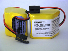 GE Fanuc A98L-0031-0025 CNC - PLC Battery for Robot Controller