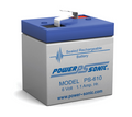Power-Sonic PS-610 Battery - 6 Volt 1.1 Amp. Hr. Sealed Rechargeable