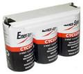 0810-0102 6 Volt 2.5 AH 1x3 D Cell Battery - Enersys Cyclon Hawker