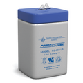 Power-Sonic PS-650 LS Battery -6 Volt 5.0 Amp. Hr. Sealed Rechargeable