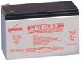 """Genesis Yuasa NP7-12-1 SLA Battery - .12 Volt, 7.0Ah 250"""" w/Terminals, Replacement Batteries for EVX-1270F2, EVX1270F2, GP1270F2, PS-1270F2, PS1270F2"""