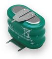 Varta 55615-303-059 - 3/V150H Battery - 3.6V 150mAh Ni-MH - 3 Pin
