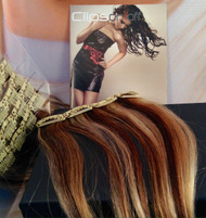 100 % Human Remy hair clip on 5 row / many different colours.