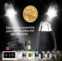 Call us now to customize your kits offering such as Tanning Solution options, Tent Color Black, Pink or Brown and which one of our amazing Maximist Machines best fits your needs! You just cannot go wrong with a Starter kit customized for your exact needs!  Call now 800-485-4319