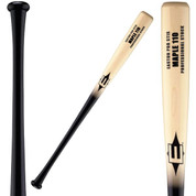 15/16 Inch Handle Black Finished Handle and Natural Finished Barrel Cupped End Identical Quality as Easton Maple Bats used by Over 100 Major Leaguers Length to Weight Ratio Approximately -2 to -3 Medium Knob Professional Grade Hardwood Maple
