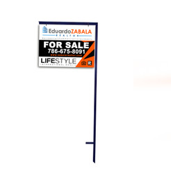 Single Arm Metal Sign Holder