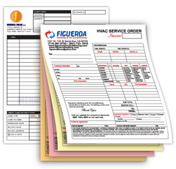 NCR Forms - Full Color