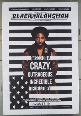 BLACKkKLANSMAN (2018) 28070 Focus Features Original U.S. One-Sheet Poster (27x40) Rolled  Fine Condition