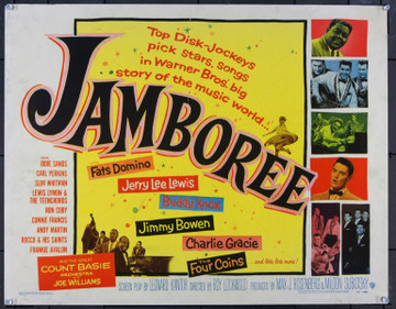 JAMBOREE (1957) 22748 Warner Brothers Half Sheet  (22x28)