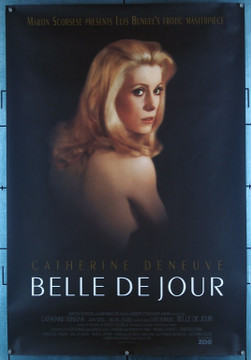 BELLE DU JOUR (1968) 6396 Original 1995 Re-Release One Sheet Poster (27x41).  Rolled.  Very Fine Plus Condition.