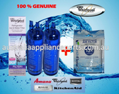 Set Whirlpool Fridge Water Filter W10295370 (2pack) Air Filter W10311524 (1pack)