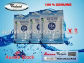 3 Pack Whirlpool Refrigerator Freshflow Air Filter Genuine Part No W10311524 W10315189