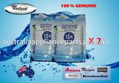 2 Pack Whirlpool Refrigerator Freshflow Air Filter Genuine Part No W10311524 W10315189