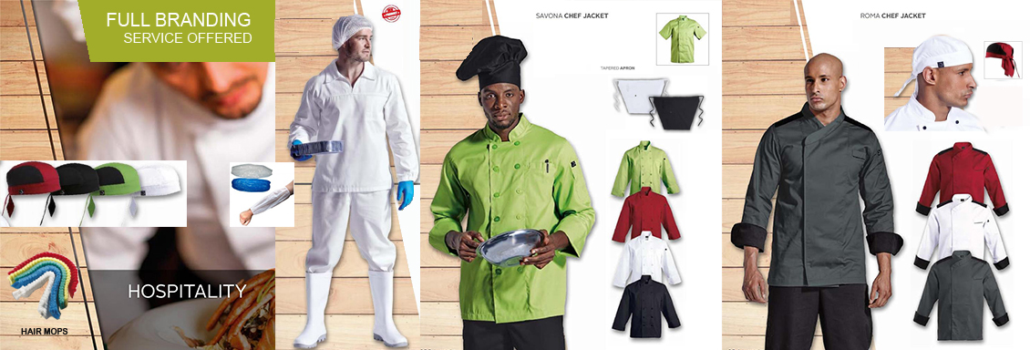 Corporate clothing uniforms i promotional clothing i for Spa uniform suppliers cape town