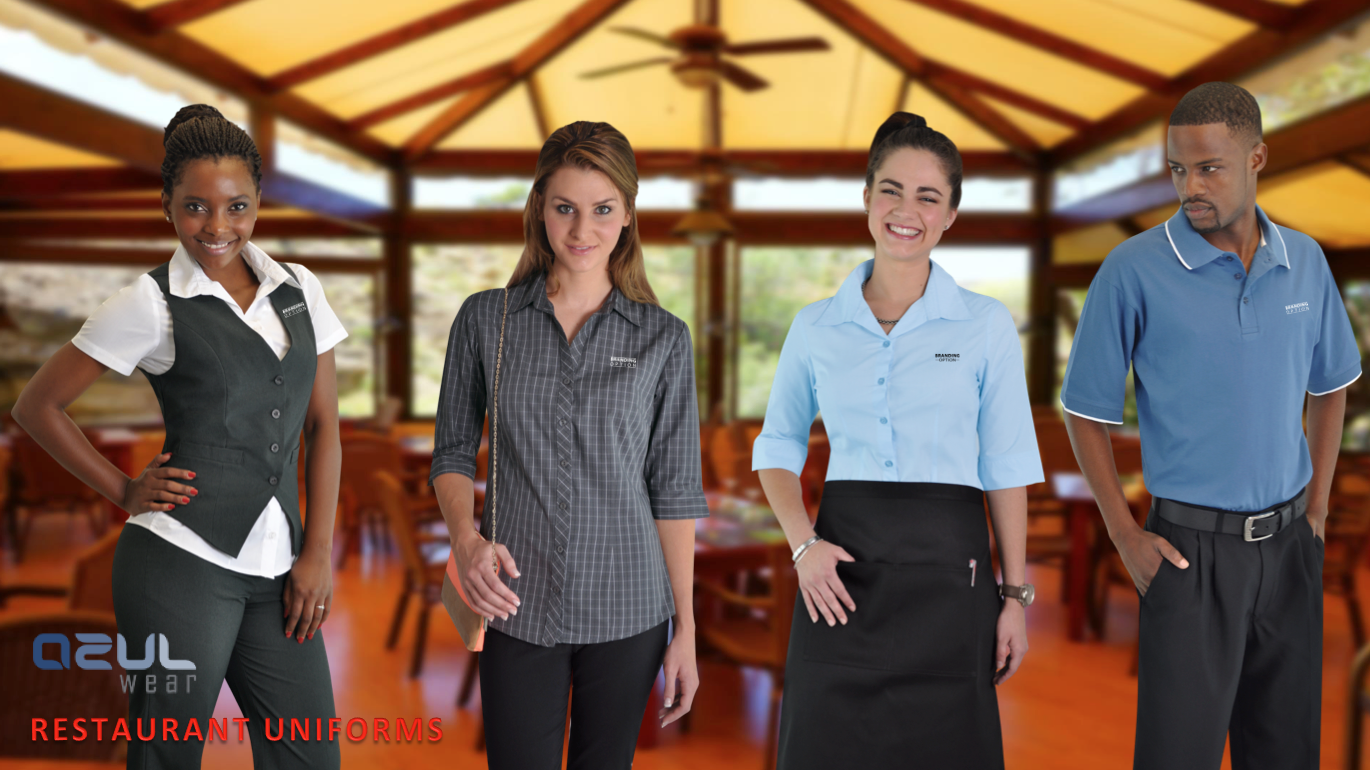 Restaurant uniform suppliers corporate clothing for Spa uniform suppliers south africa
