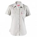 Ladies Work Shirts - Short Sleeve