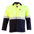 Two Tone Reflective Conti Jacket - Yellow/Navy
