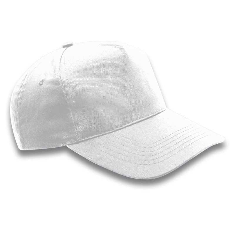 Superior 5 Panel Cap. White. Loading zoom 0bb8bf7b08d