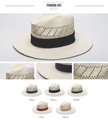 Panama Hat w/Band