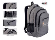 Stylish Zip Pocket Backpack