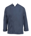 CHEF WORKS HARTFORD L/S CHEF COAT BLUE OR GRAPHITE-LARGE