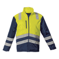 Fleet Jacket Yellow Hi Viz