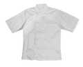 Double Breasted Short Sleeve Chef Jkt