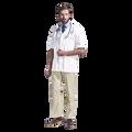 All-Purpose S/ Sleeve Unisex Lab Coat