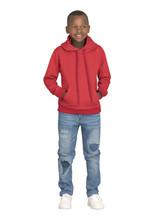Kids Essential Hooded Sweater