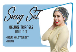 Snug Set Deluxe Triangle Hair Net