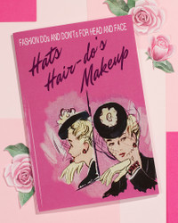 Paperback - Hats, Hair-Do's and Makeup ( Published 1943)