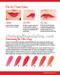 Vintage shades of red lipstick