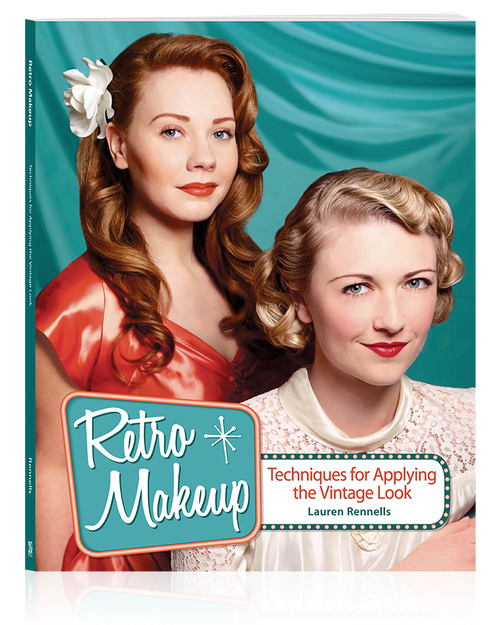 Cover of the tutorial book Retro Makeup: Techniques for Applying the Vintage Look