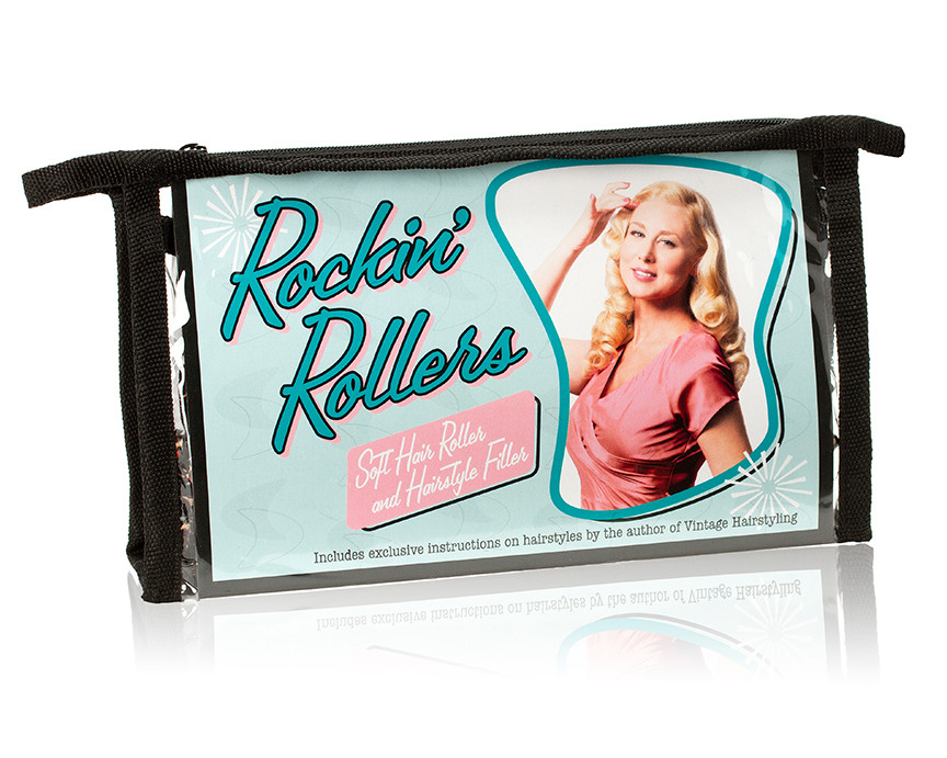 Vintage Hairstyling Rockin Rollers Soft Hair Rollers Adorable Roller Set Patterns