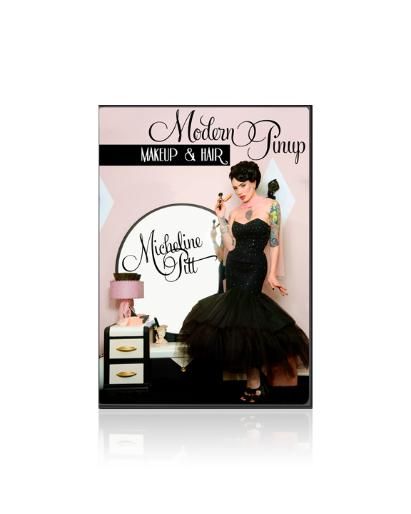 Vintage pin up makeup and hair excellent, support