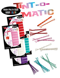Tint-o-Matic Fashion Hair Color Bobby Pins Matte Finish