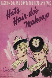 Digital Download - Hats, Hair-Do's and Makeup (Published 1943)