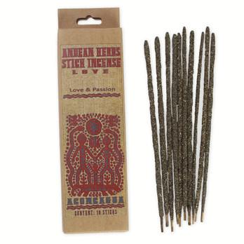 Love Prabhuji Andean Herbs Smudging Incense Sticks