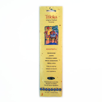 Assorted #2 Triloka  Herbal Sticks