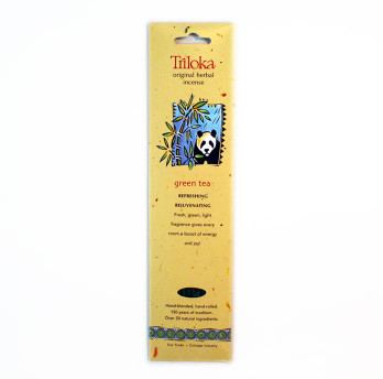 Green Tea Triloka  Herbal Sticks