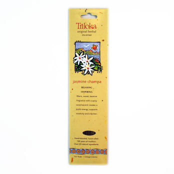 Jasmine Champa Triloka  Herbal Sticks