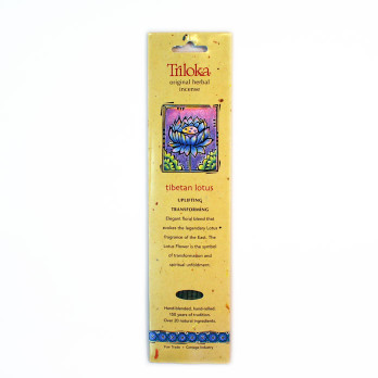 Tibetan Lotus Triloka  Herbal Sticks