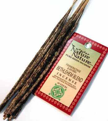 Frankincense & Myrrh Bethlehem Blend Resin Nature Nature Incense Sticks