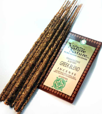 Frankincense & Myrrh Greek Blend Resin Nature Nature Incense Sticks