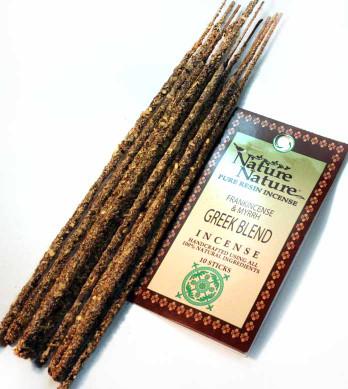 Frankincense & Myrrh Greek Blend Resin Nature Nature Incense Sticks