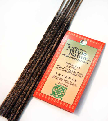 Frankincense & Myrrh Jerusalem Blend Resin Nature Nature Incense Sticks