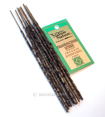Frankincense & Myrrh Roman Blend Resin Nature Nature Incense Sticks