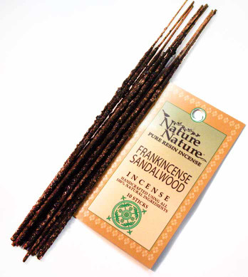 Frankincense & Sandalwood Resin Nature Nature Incense Sticks