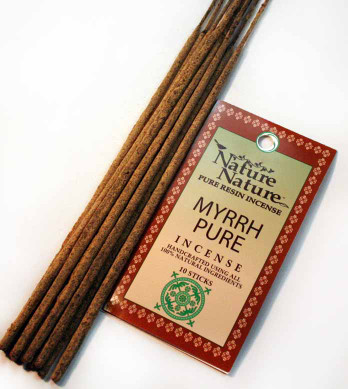 Myrrh Pure Resin Nature Nature Incense Sticks